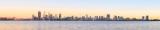 Perth and the Swan River at Sunrise, 20th November 2014