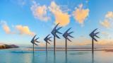 Sunrise at Cairns Lagoon, 9th August 2014