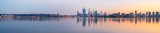 Perth and the Swan River at Sunrise, 15th August 2014