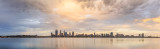 Perth and the Swan River at Sunrise, 22nd January 2015