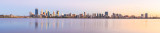 Perth and the Swan River at Sunrise, 8th March 2015