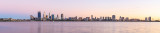 Perth and the Swan River at Sunrise, 9th March 2015