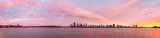 Perth and the Swan River at Sunrise, 29th April 2015