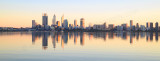 Perth and the Swan River at Sunrise, 10th May 2015
