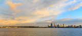 Perth and the Swan River at Sunrise, 21st August 2015