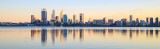 Perth and the Swan River at Sunrise, 23rd August 2015