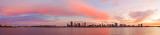Perth and the Swan River at Sunrise, 26th August 2015
