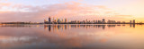 Perth and the Swan River at Sunrise, 1st September 2015