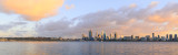 Perth and the Swan River at Sunrise, 11th September 2015