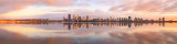Perth and the Swan River at Sunrise, 14th September 2015