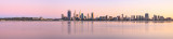 Perth and the Swan River at Sunrise, 17th September 2015