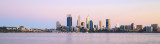 Perth and the Swan River at Sunrise, 23rd September 2015