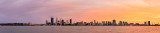 Perth and the Swan River at Sunrise, 24th September 2015