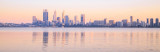 Perth and the Swan River at Sunrise, 28th September 2015