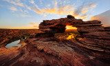 Nature's Window Sunrise, Kalbarri National Park, 19th October 2015