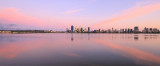 Perth and the Swan River at Sunrise, 5th November 2015