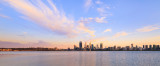 Perth and the Swan River at Sunrise, 18th February 2016