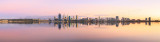 Perth and the Swan River at Sunrise, 1st April 2016