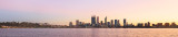 Perth and the Swan River at Sunrise, 30th May 2016