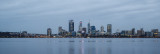 Perth and the Swan River at Sunrise 4th August 2016