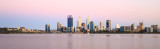 Perth and the Swan River at Sunrise, 22nd November 2016