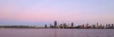 Perth and the Swan River at Sunrise, 28th November 2016