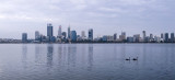 Perth and the Swan River at Sunrise, 11th December 2016