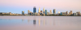 Perth and the Swan River at Sunrise, 31st December 2016