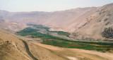 Chile Atacama Desert oasis valley