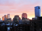 January 6, 2014 Photo Shoot - Mostly Sunsets of Downtown Manhattan Skyline