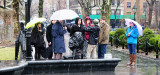March 29, 2014 Photo Shoot - Mostly A Walk in the Rain Around Washington Square Park