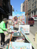 Sonia Greneva Artist - Spring 2015 Washington Square Art Show