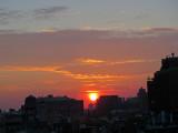 Sunset - West Village Skyline