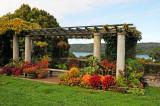 Garden Landscape & Hudson River View
