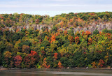 Palisades Fall Colors above the Hudson River