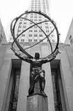 Atlas Bronze Statue at Rockefeller Center