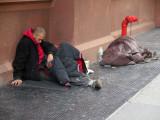 Homeless on the Street