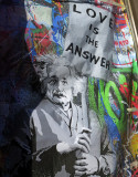 Einstein Poster - Love is the Answer
