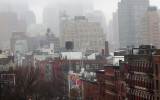 Greenwich Village, SOHO & Downtown Manhattan Fog