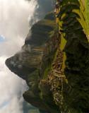 Inca's face, Machu Picchu, Perú