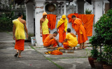 Monks in Luang Prabang, Laos