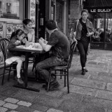 Lunchtime at rue St Denis