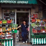 Grocery store,  Rue des Rosiers