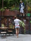 Urban gardening...