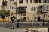 Taking pictures in Yafo