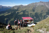 87 Col Brison View to Col Champillon Mont Blanc TdG 13.jpg