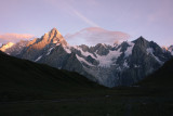 97 Grandes Jorasses at Sunrise TdG 13.jpg