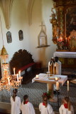 in der Ofenbacher Kirche