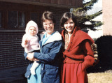At a friend's house, Cobourg, Ontario, 1983