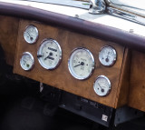 Jaguar XK-120 dash